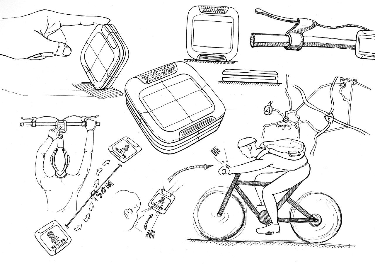 产品手绘效果图,草图!