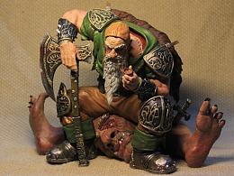 战锤矮人 3D作品
