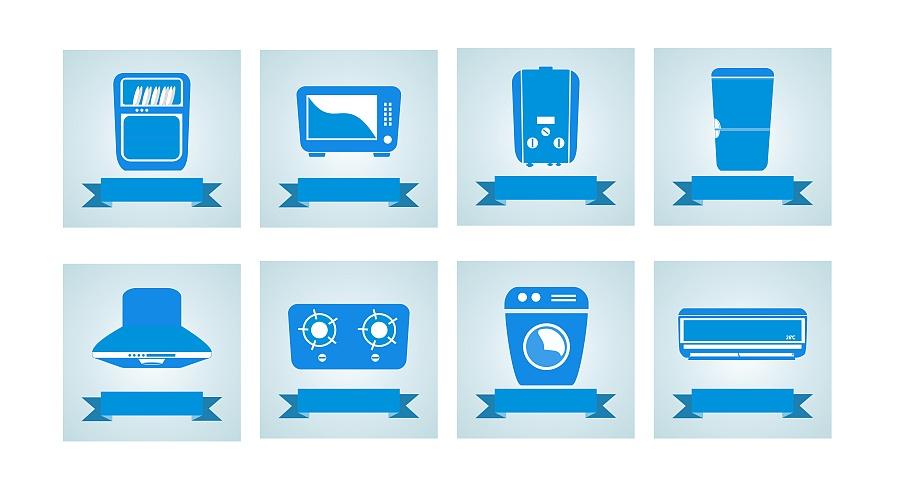 家用电器类 可爱图标|图形/图案|平面|434599059