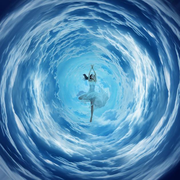漫步云端|海报|平面|designyounglp - 原创设计作图片