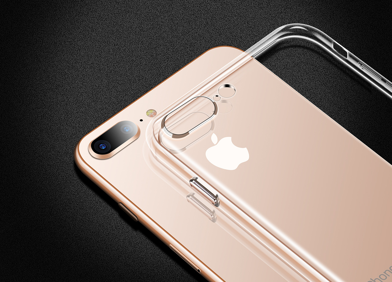 透明手机壳精修