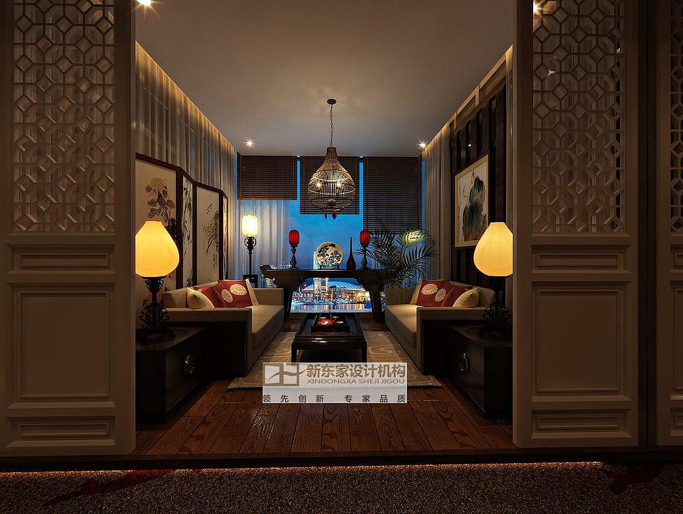 德阳市选区茶馆设计|新茶楼设计钢笔东家建立好绘制工具图片