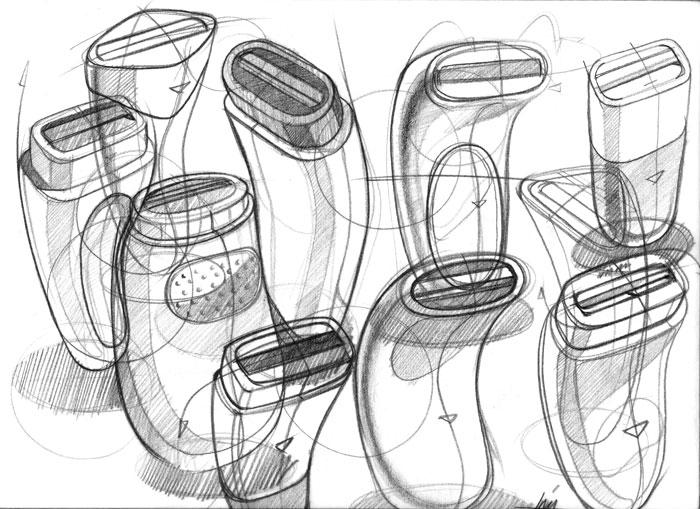 个人手绘|电子产品|工业/产品|燃烧冰雪 - 原创设计