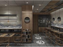 哈喽设计 | 渔火餐饮空间设计