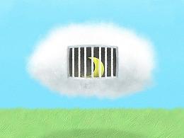 日画1228~1236 一朵云能载多少思念的寄托?