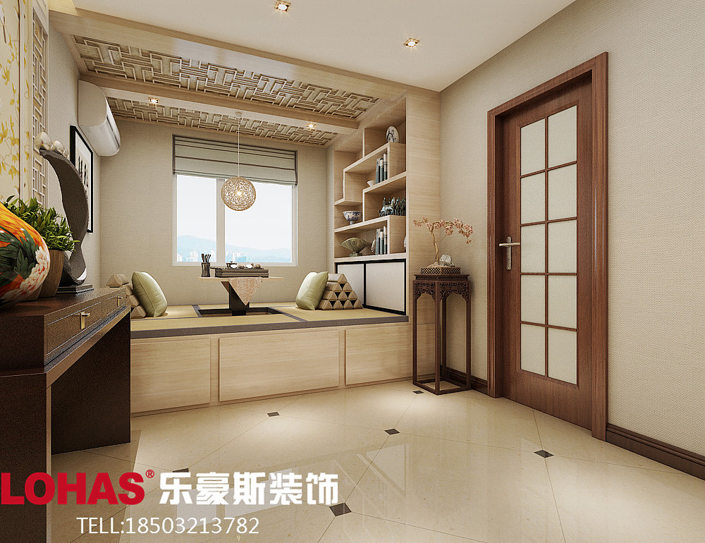 130平方新中式家装图片 效果图