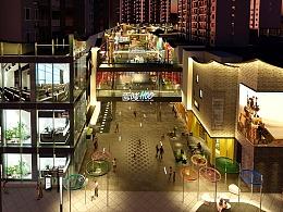 夜经济升温下,除了摆地摊,商业街如何通过设计点燃那半城烟火