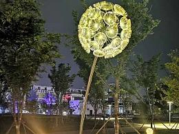 公园广场灯光亮化蒲公英灯 造型景观灯 专业工厂 铭星