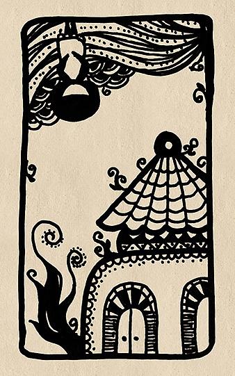 黑白手绘练习|插画|涂鸦/潮流|hattp1102 - 原创作品