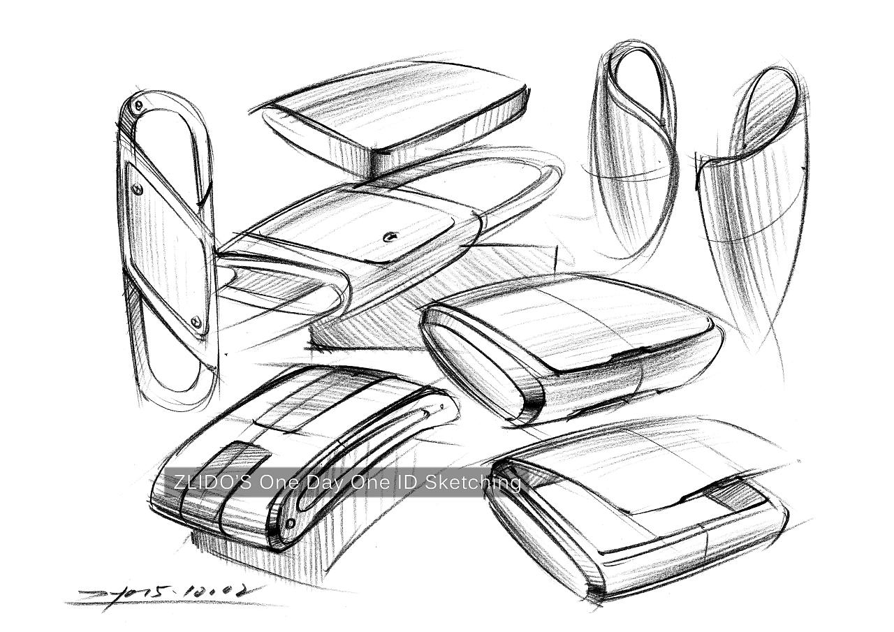 2015产品设计手绘11月 一日一画