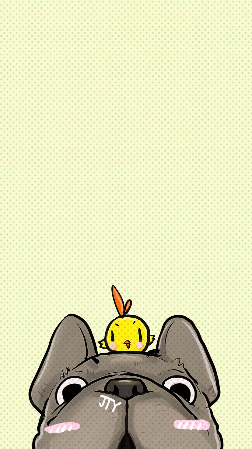 法斗插画|插画|插画习作|金太爷 - 原创作品 - 站酷