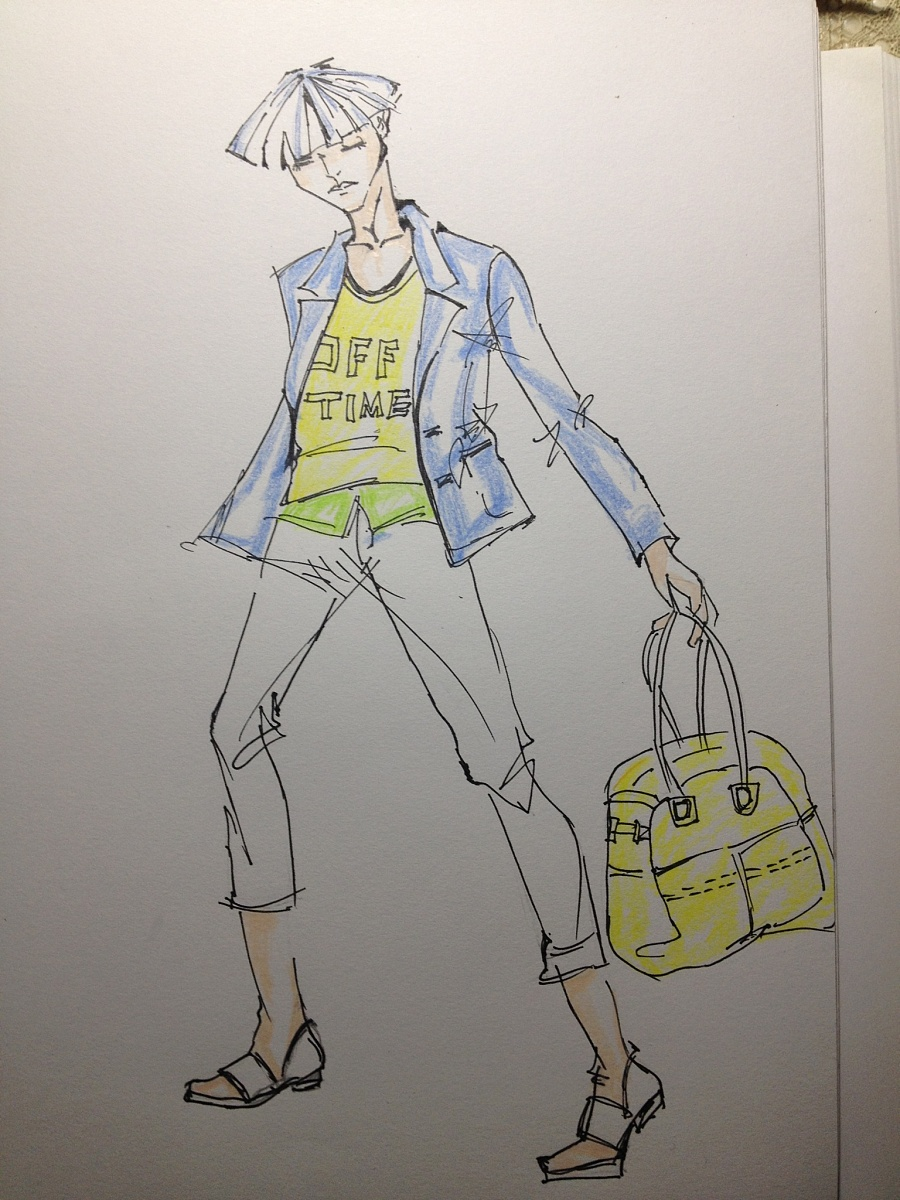 时装画-男装