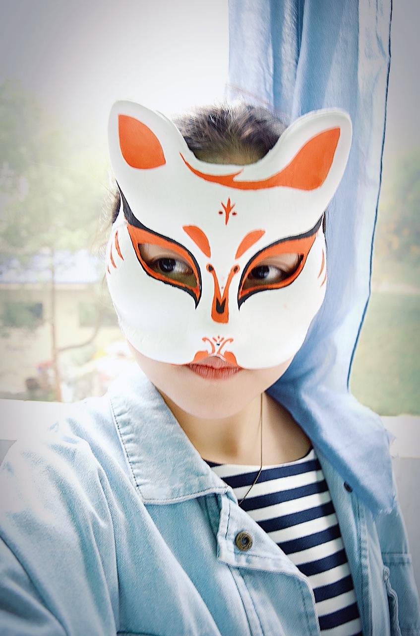 似猫似狐的清新面具|其他|其他|鲁冰洋