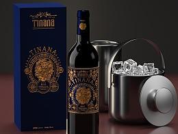 广州米凸包装设计公司案例分享-红酒包装设计