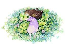 花花和少女组图