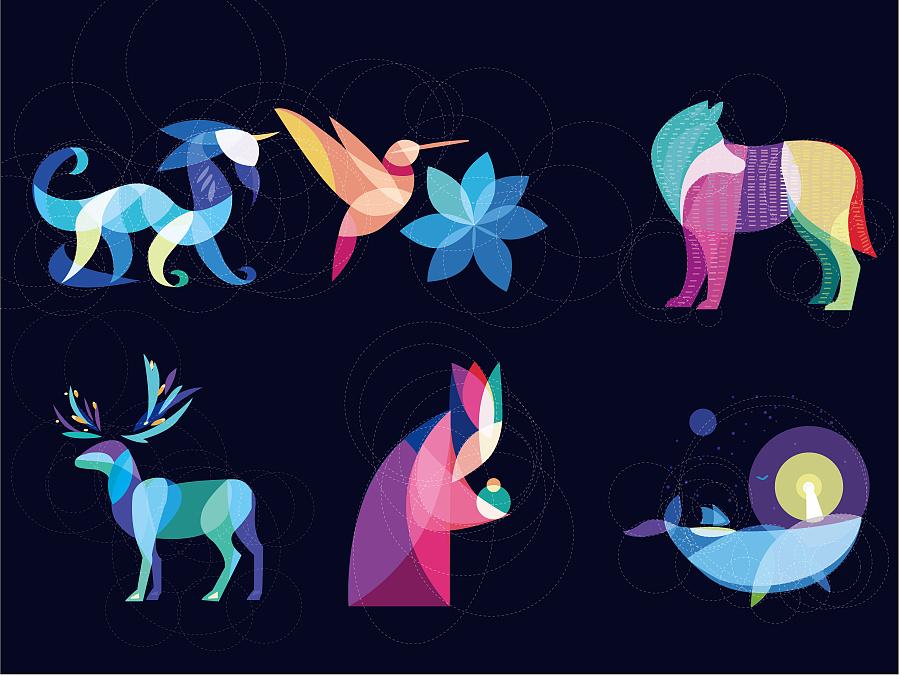 动物元素|吉祥物|平面|1394052304 - 原创设计作品