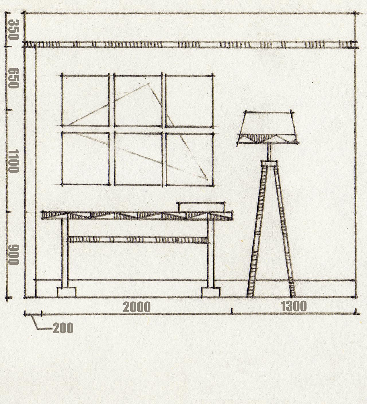 手绘立面图|空间|室内设计|diamond4 - 原创作品