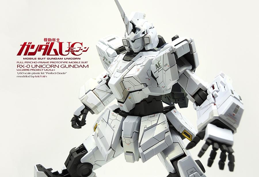 查看《PG RX-0 Gundam Unicorn 独角兽高达 喷涂作品》原图,原图尺寸:1000x683