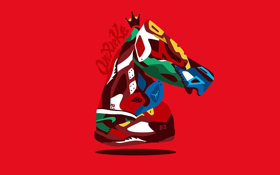 查看《马年贺图送Sneaker》原图,原图尺寸:1280x800