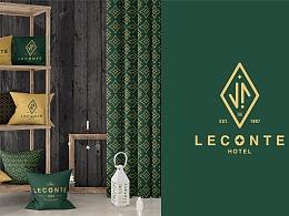LECONTE HOTEL 品牌视觉设计