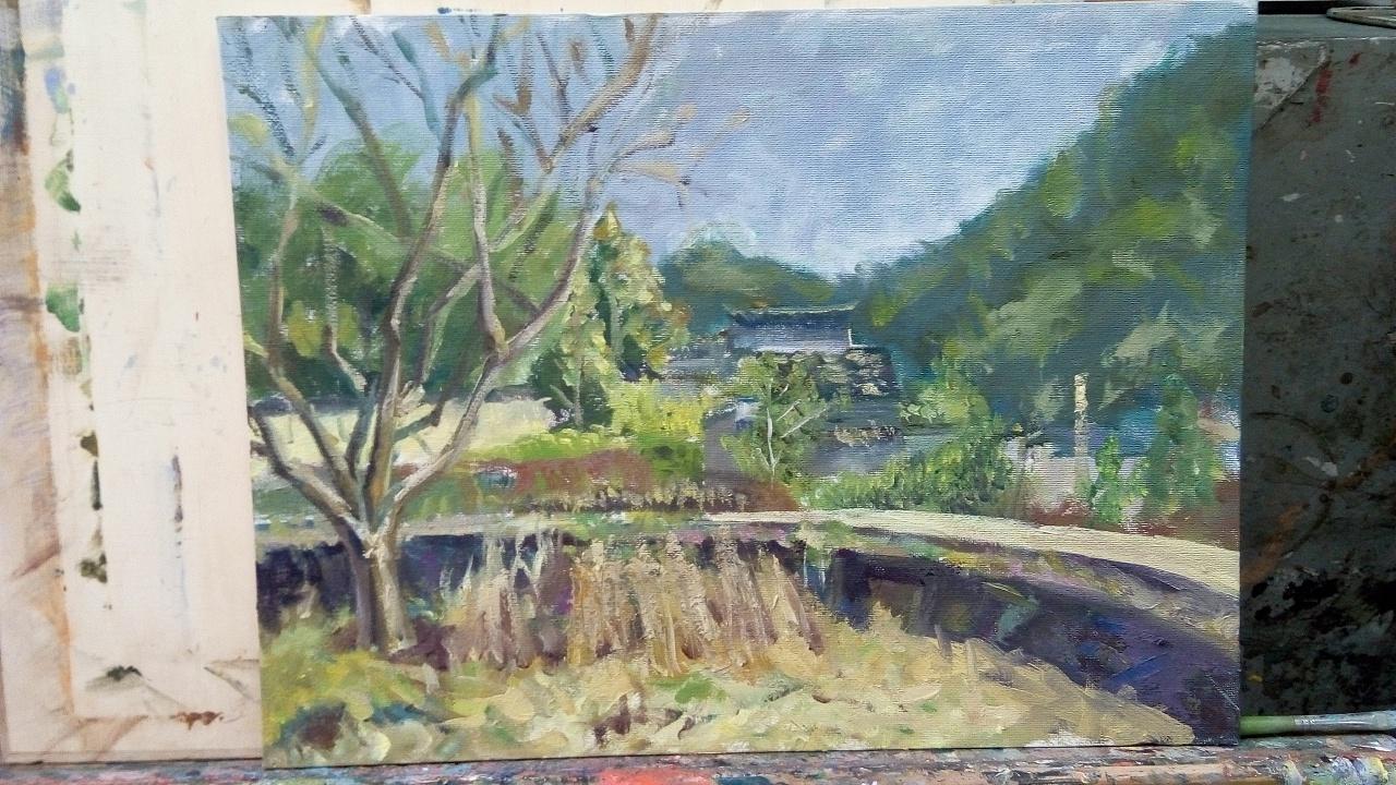 王和琳油画作品集图片