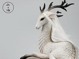国风原创神兽【山 · 海】之 麒麟