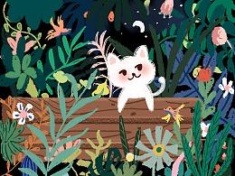 丛林里的猫