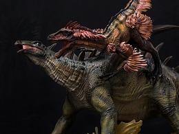 博物馆系列 - 巨棘龙与内蒙古盗龙