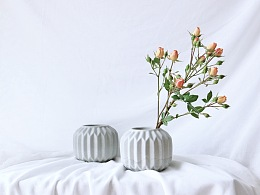 WOODSTONE   水泥花器