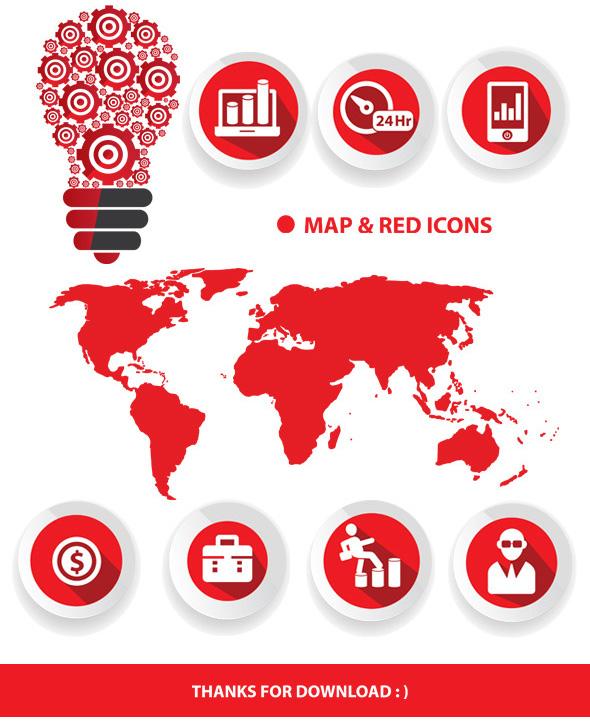 红色创意工业调查统计分析ppt模板|书装/画册|平面图片