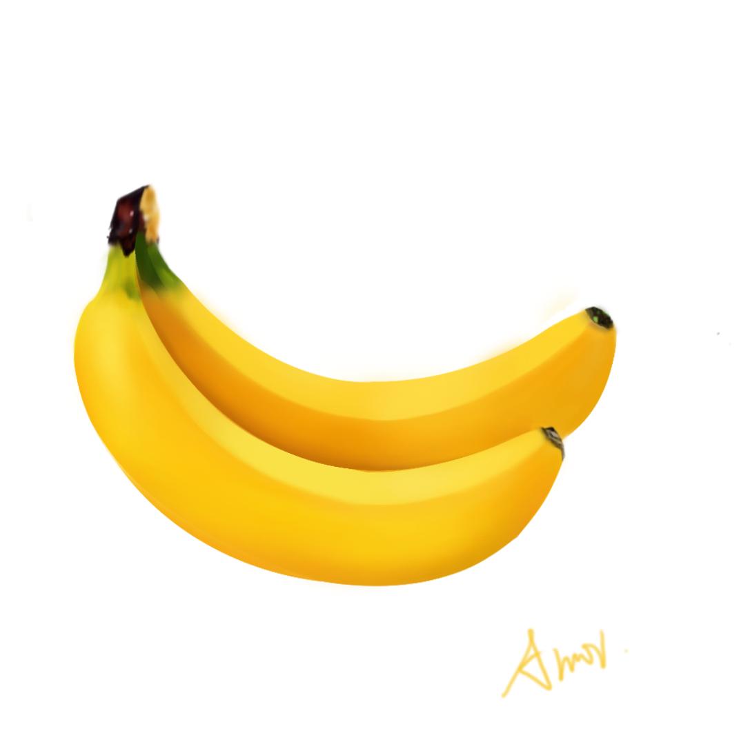 水果写实手绘
