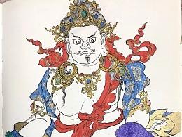 藏式 黄财神
