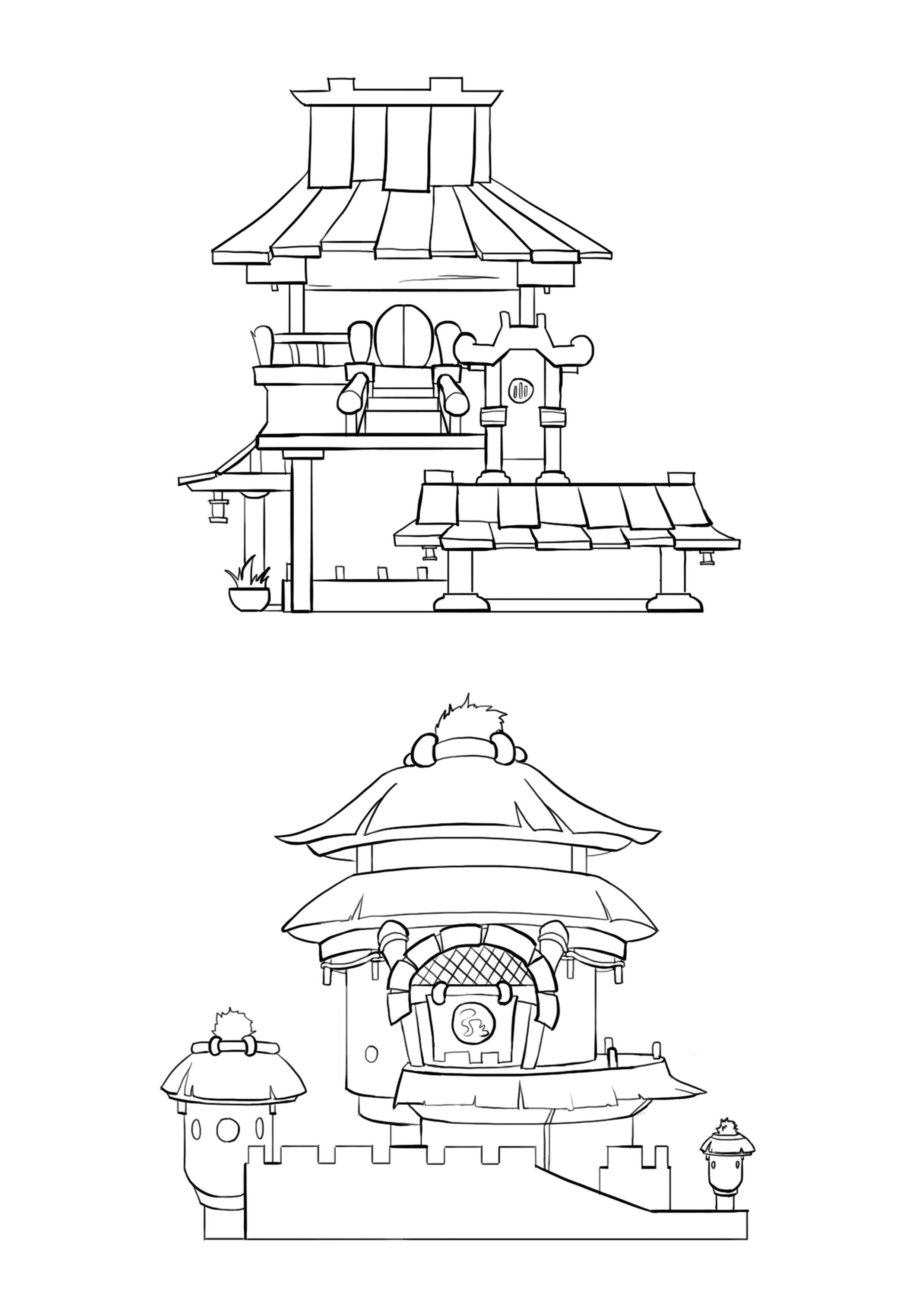 如何画房子设计图展示