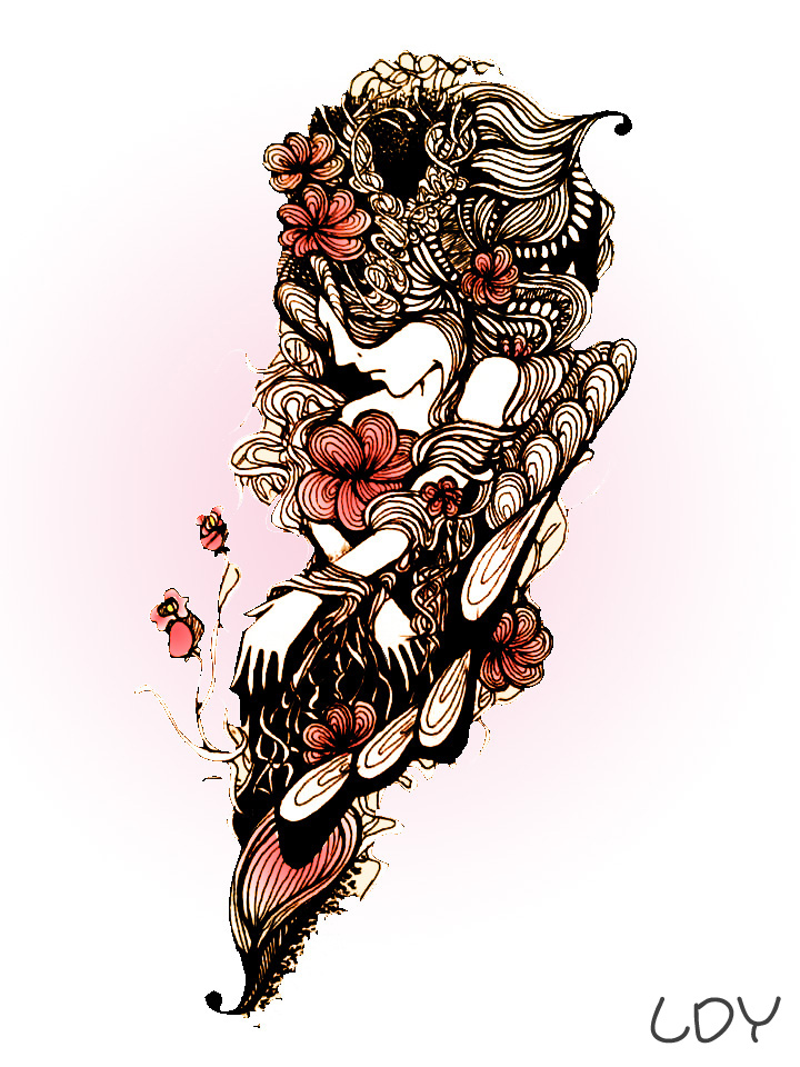 手绘插画 梦幻|插画|其他插画|刺仙人掌301 - 原创