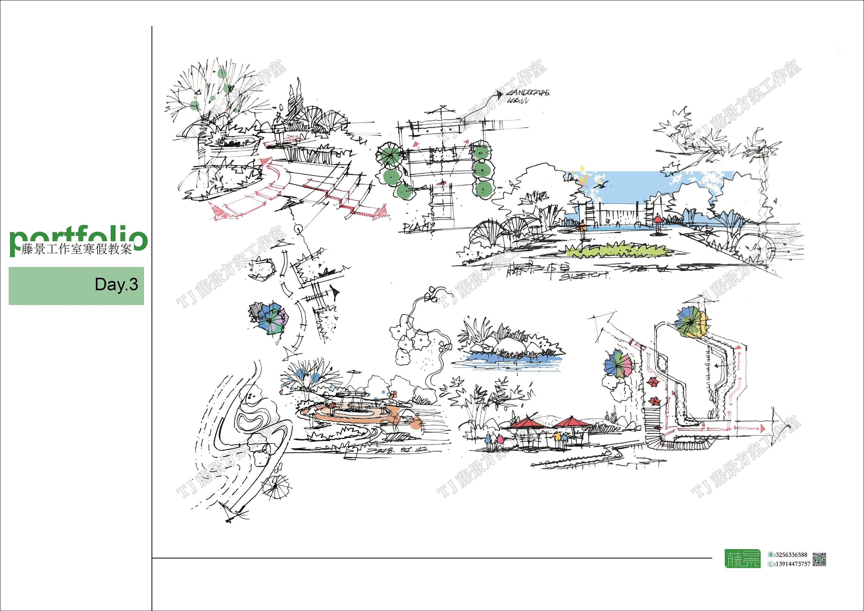 景观草图|空间|景观设计|菲林zhu - 原创作品 - 站酷图片