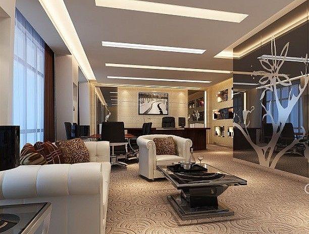 重庆办公室装修效果图/办公室设计/办公室装修
