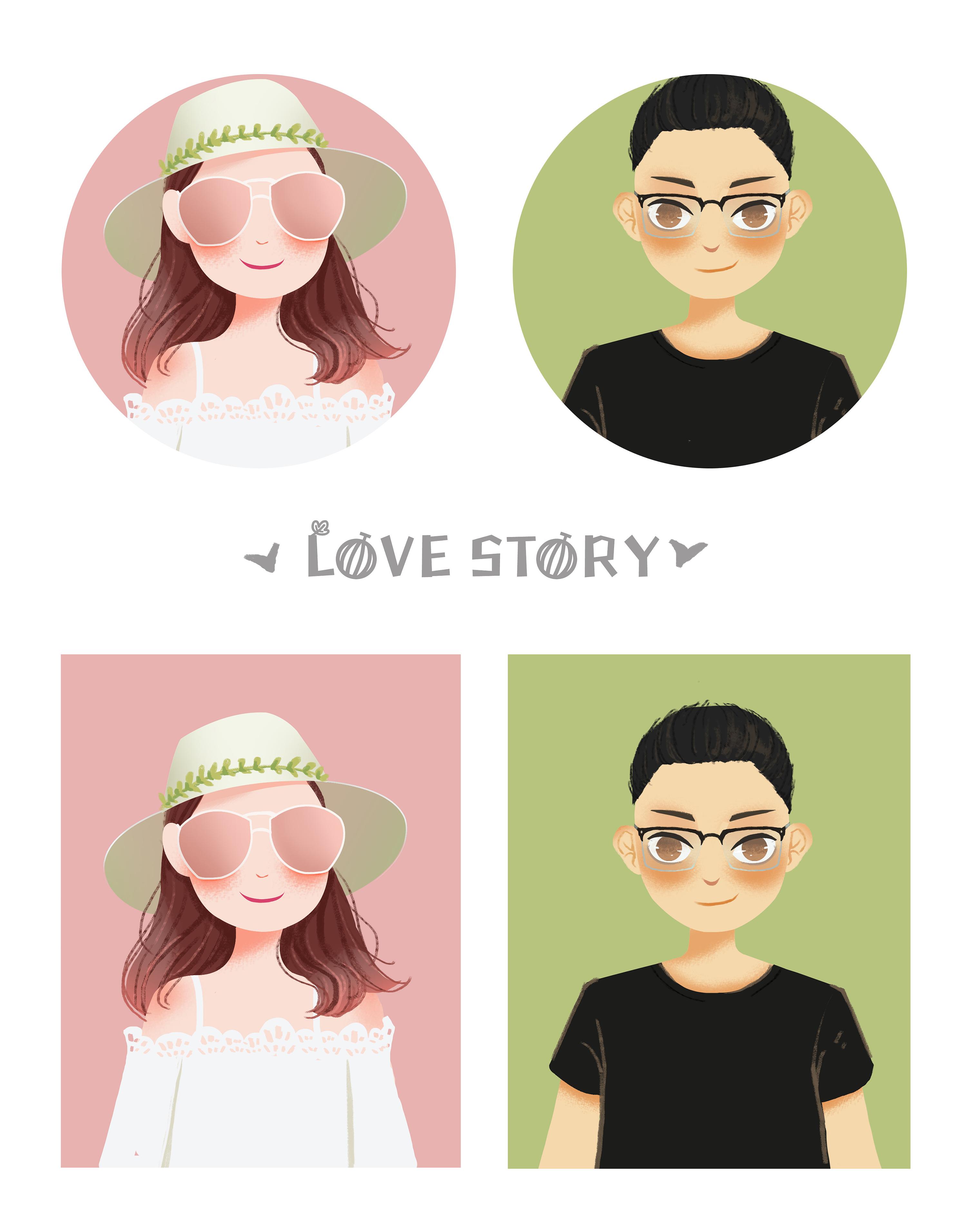 love story陶笛谱