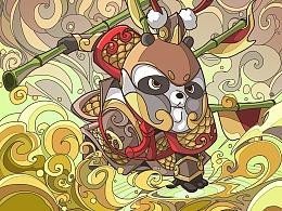 东方英雄-武将胖丸