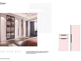 2021整体家具画册设计、吸塑衣柜橱柜图册印刷