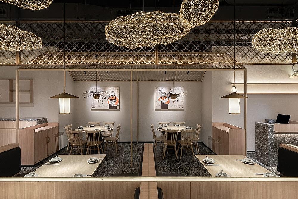 成都日式餐厅设计 成都烤鸭烧鹅店设计图