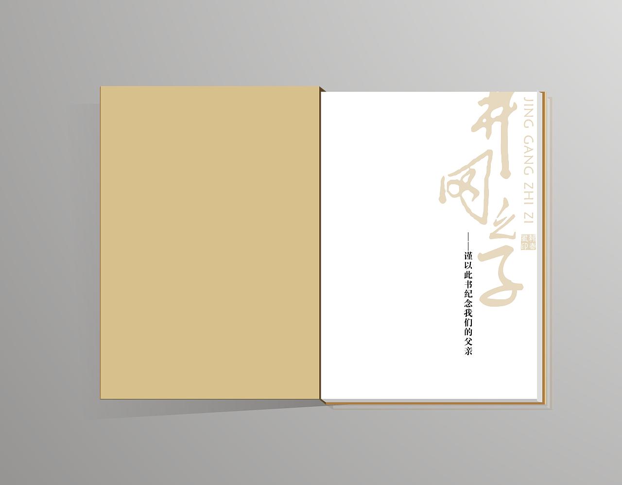 书籍设计《井冈之子》图片