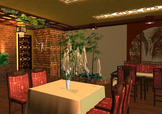星级饭店装修效果图设计