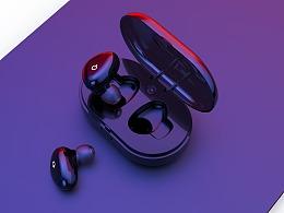 耳机渲染练习
