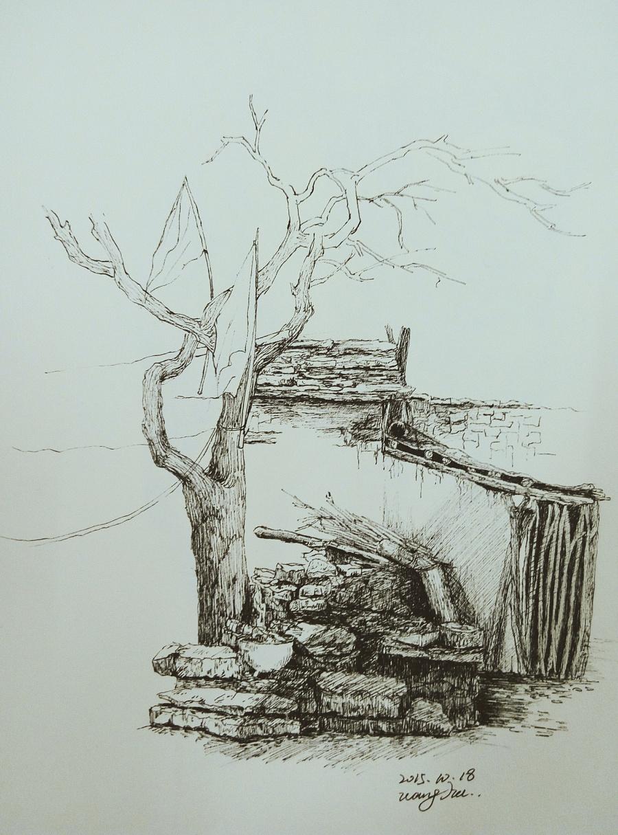 简笔画 手绘 素描 线稿 900_1215 竖版 竖屏