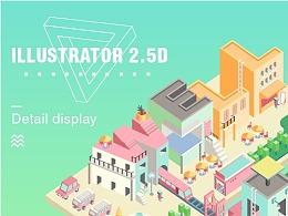 ILLUSTRATOR 2.5D