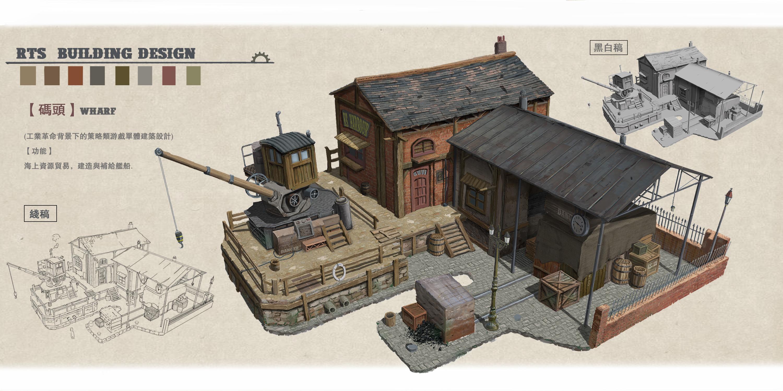 策略游戏建筑单位单体设计