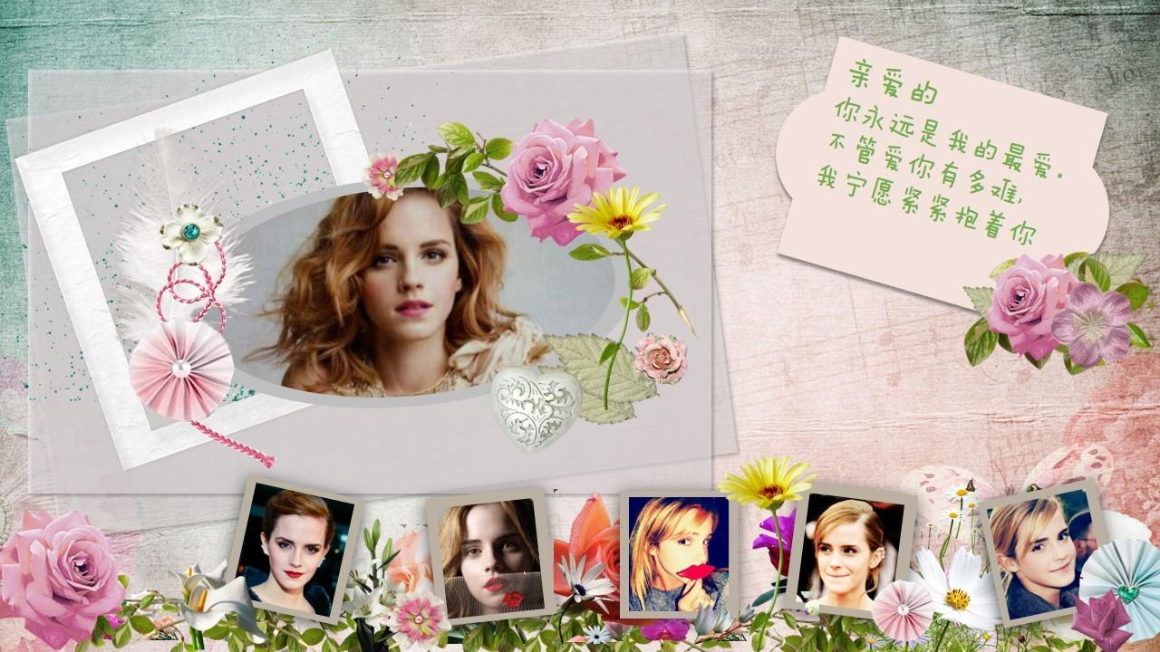 《我的最爱》—ppt电子相册图片