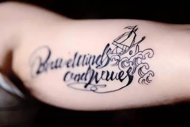 纹身设计手稿图片