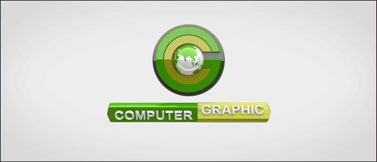 computer graphic logo演绎|三维|动画/影视| - 原创图片