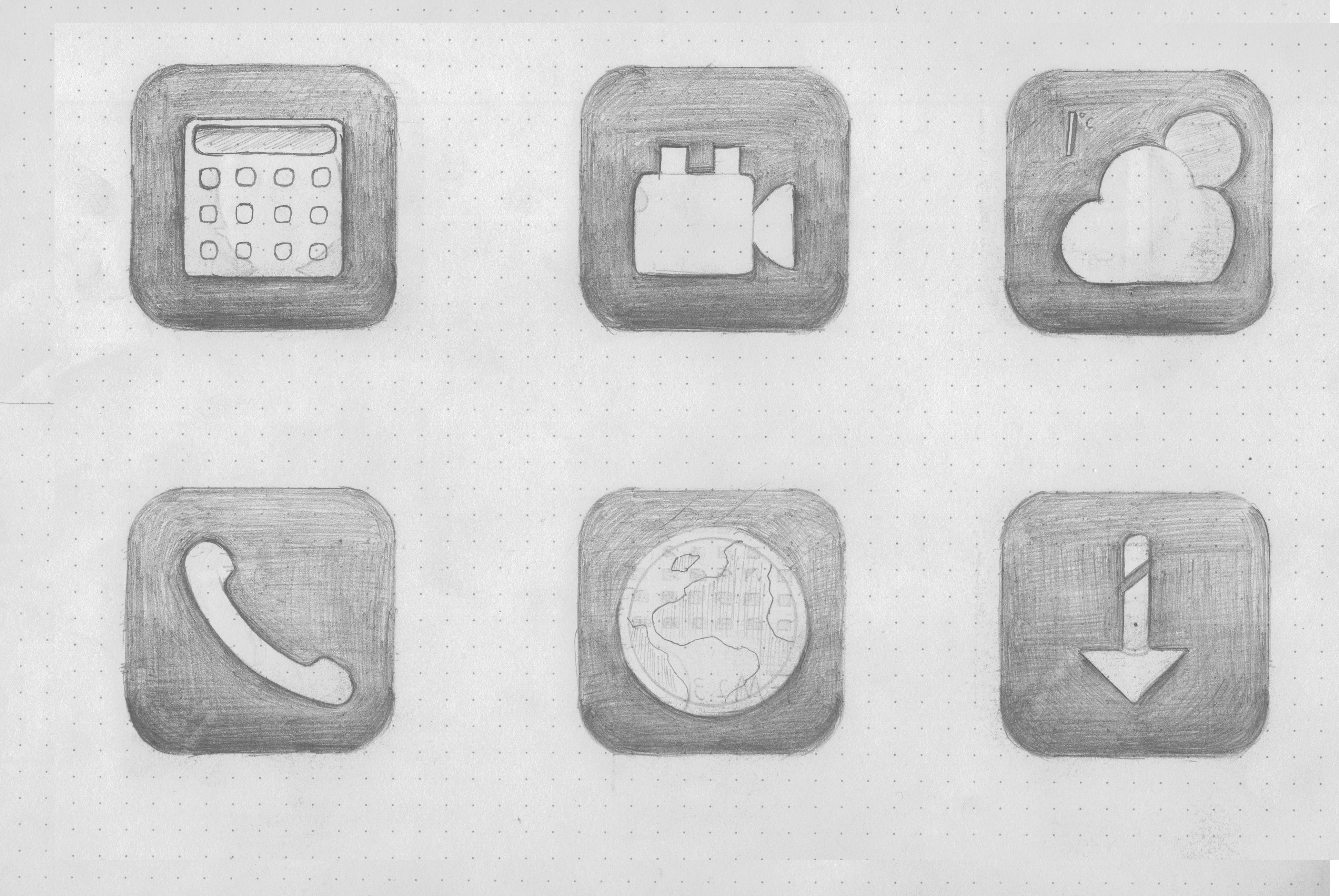 手绘图标设计|ui|图标|mymymy - 原创作品 - 站酷